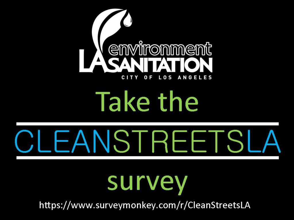 Clean Streets survey - english - social media