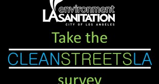 Clean Streets survey - english - social media