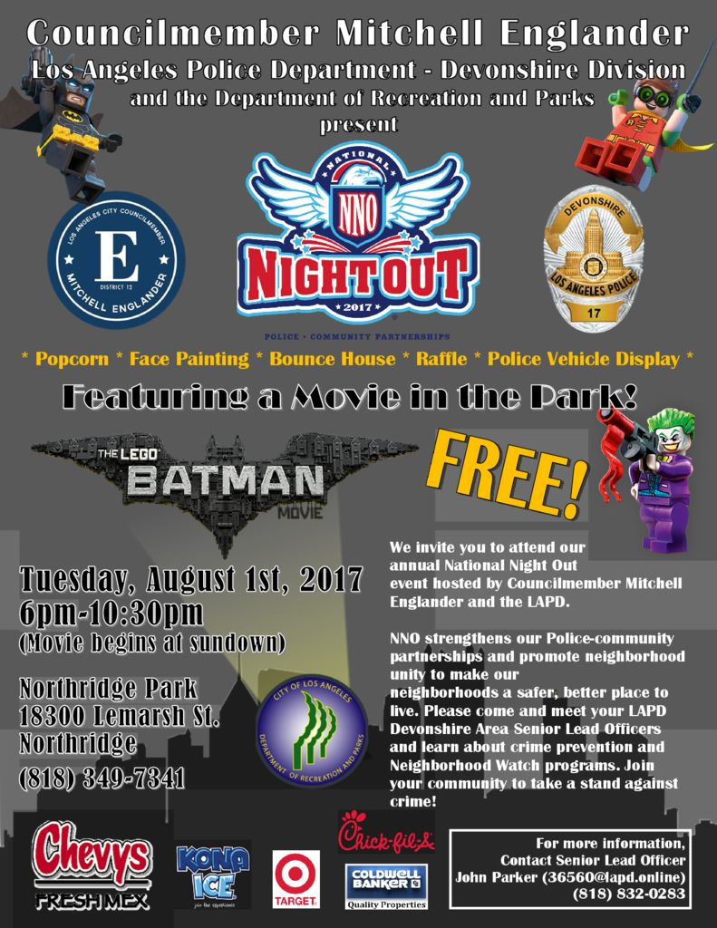 thumbnail of LAPD Devonshire National Night Out 2017Flyer