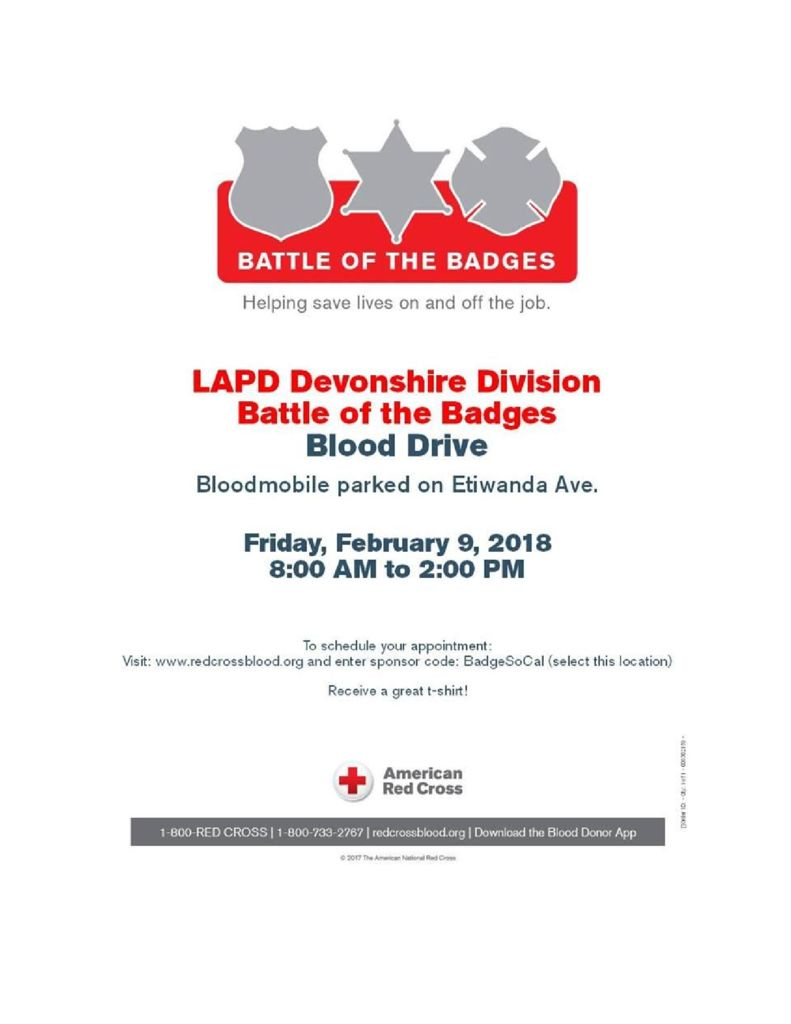 thumbnail of Battle of the Badges February 2018
