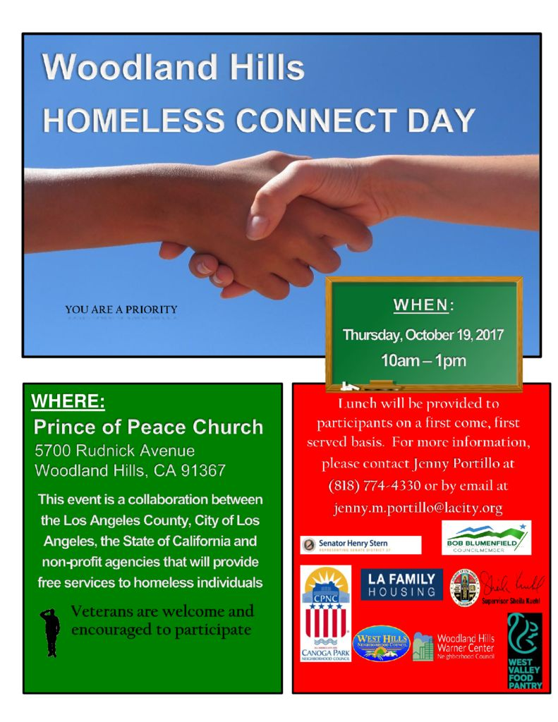 thumbnail of Woodland Hills Connnect Day Flyer