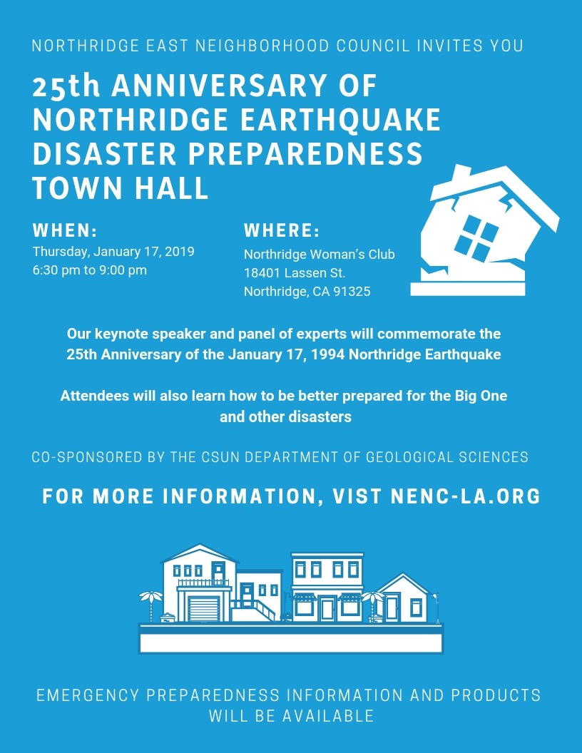 Northridge Earthquake Anniversary Event
