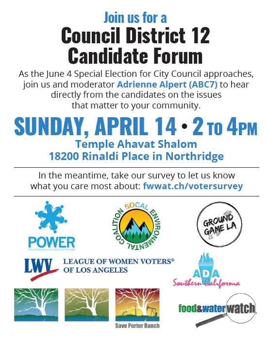 CD12 Candidate Forum