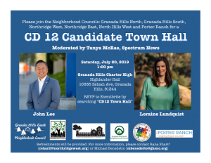 Candidate Forum Announcement